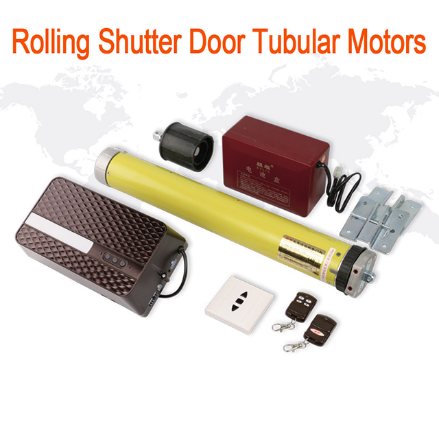 Anlin Tubular Motor Roller Shutter For Blinds