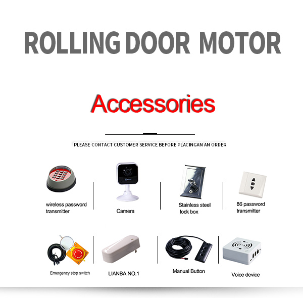 Anti Theft And Fireproof Device Can Be Selected for Roller Shutter Motor Accessories